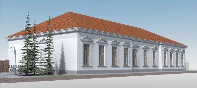 Kisköre, Könyvtár felújítása, akadálymentesítése